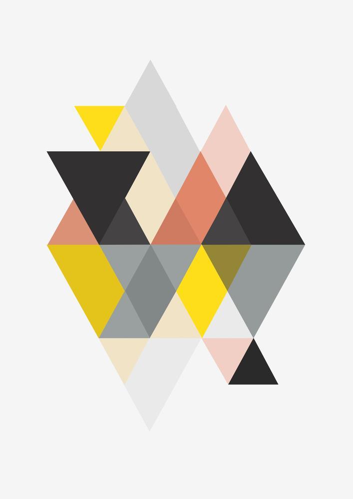 Poszter - Triangle Geometrica (S040075SA4)