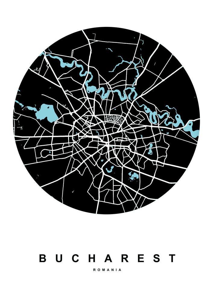 Plakát - Bukurešť (S040197SA4)
