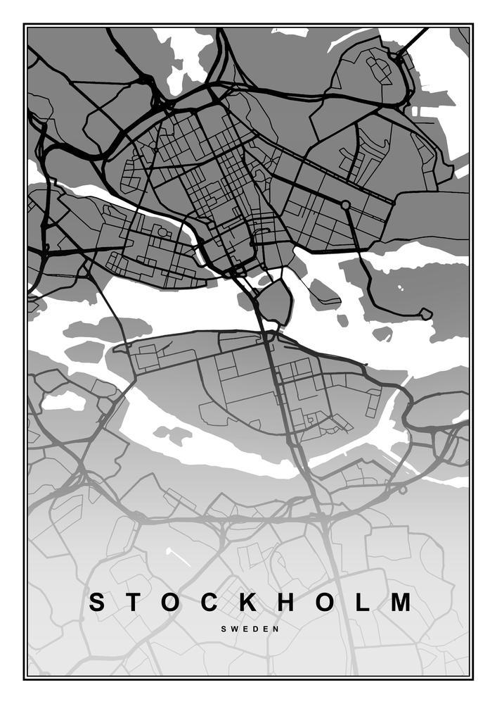 Plakat - Stockholm (S040329SA4)
