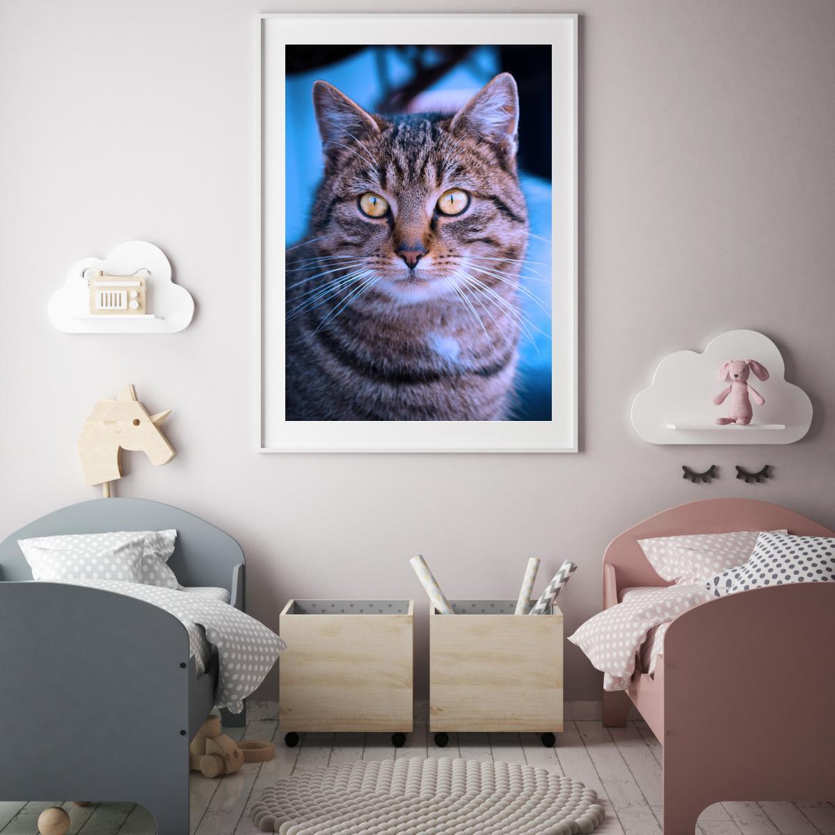 Plakat - Tigrasta mačka (S040011SA4)