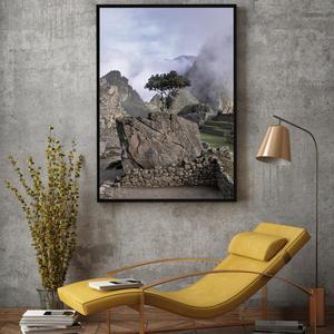 Plakat - Drevo na skali (S040012SA4)