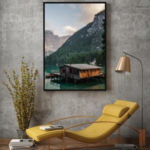 Plakat - Koča ob jezeru (S040041SA4)