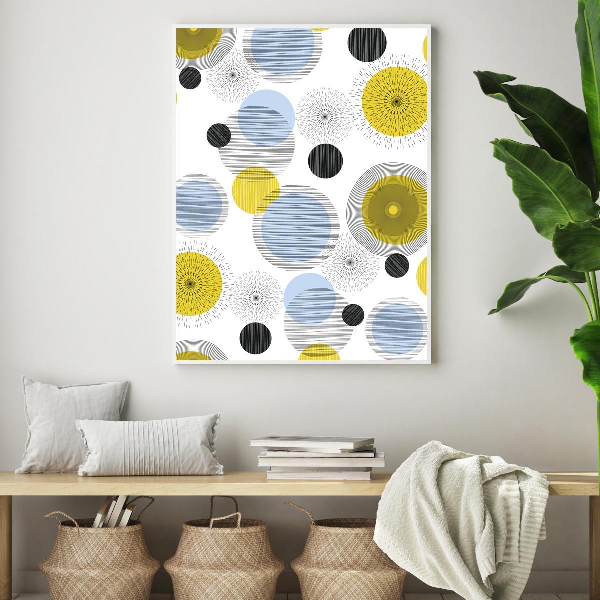 Plakat - Circles (S040064SA4)