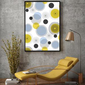 Plakát - Circles (S040064SA4)