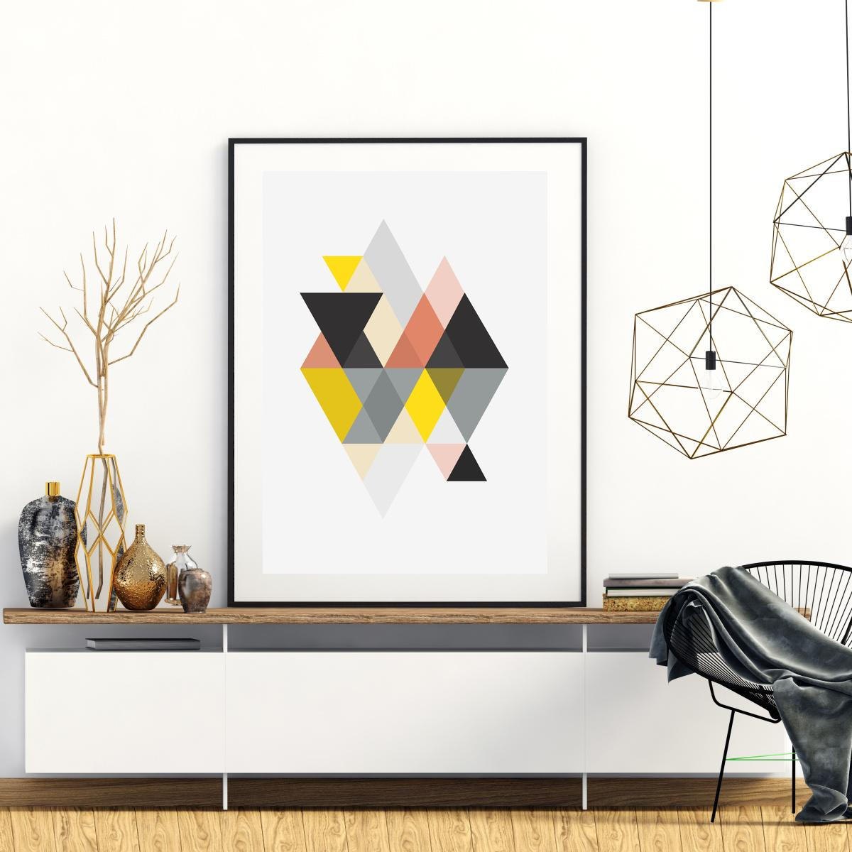 Plakat - Triangle Geometrica (S040075SA4)