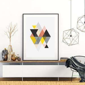 Plagát - Triangle Geometrica (S040075SA4)