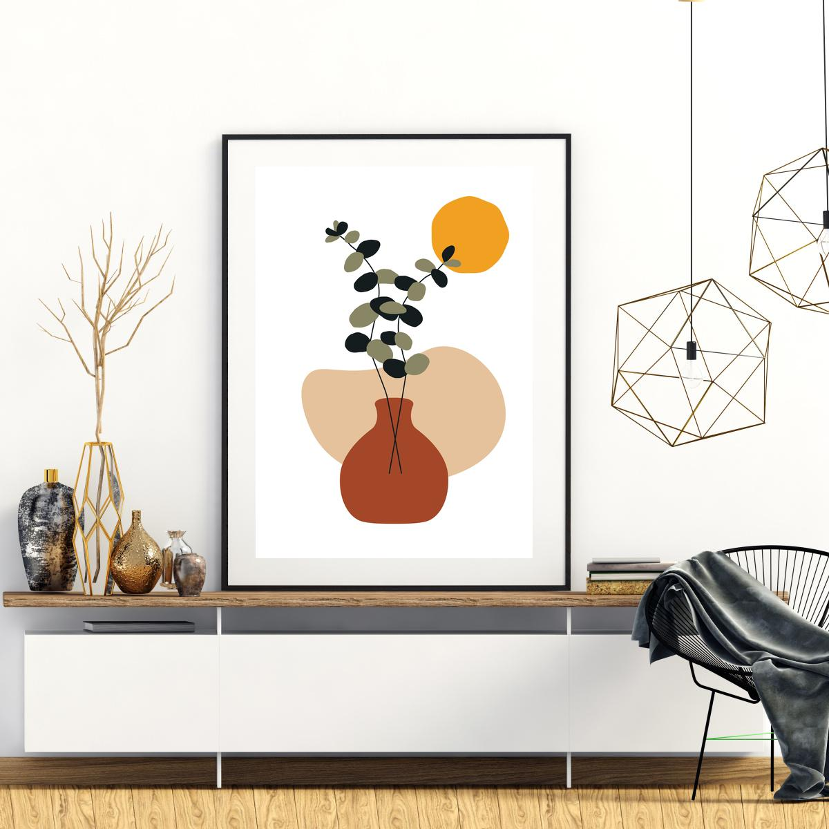 Plakat - Vase 1 (S040096SA4)