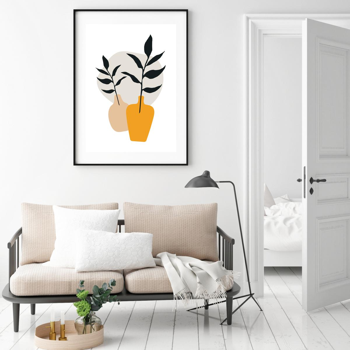 Plakat - Vase 2 (S040097SA4)
