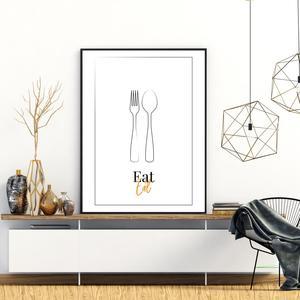 Poszter - Eat (S040100SA4)