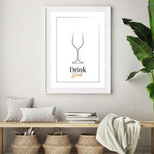 Plakat - Drink (S040101SA4)