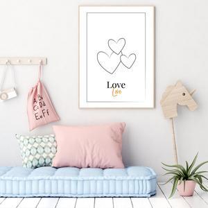Plakat - Love (S040102SA4)