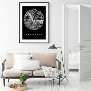 Plakát - Amsterdam (S040110SA4)