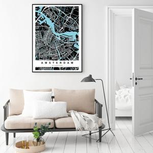 Poster - Amsterdam (S040115SA4)