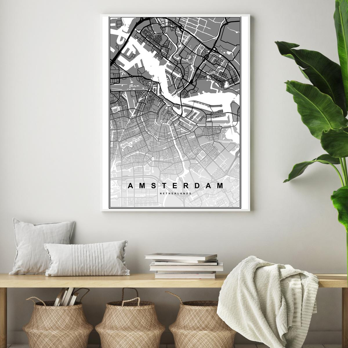 Plakát - Amsterdam (S040118SA4)