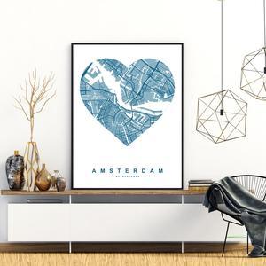 Poster - Amsterdam (S040120SA4)