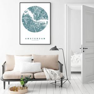 Poster - Amsterdam (S040122SA4)
