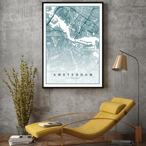 Poster - Amsterdam (S040124SA4)