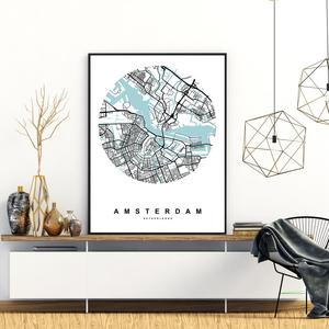 Poster - Amsterdam (S040125SA4)
