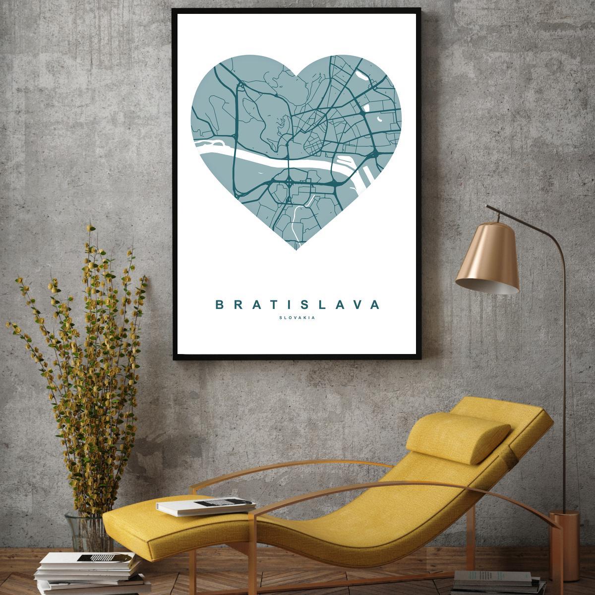 Plakat - Bratislava (S040165SA4)