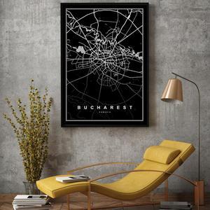 Plakát - Bukurešť (S040196SA4)