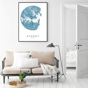 Plakat - Sydney (S040351SA4)