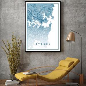 Plakat - Sydney (S040353SA4)