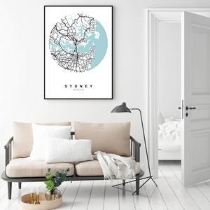 Plakat - Sydney (S040357SA4)