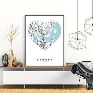 Plakat - Sydney (S040358SA4)