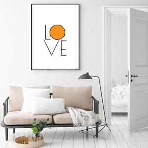 Plakat - Love (S040415SA4)