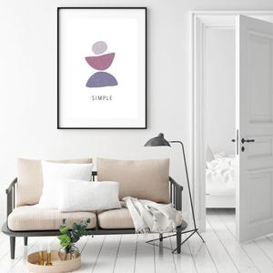 Plakát - Simple (S040418SA4)