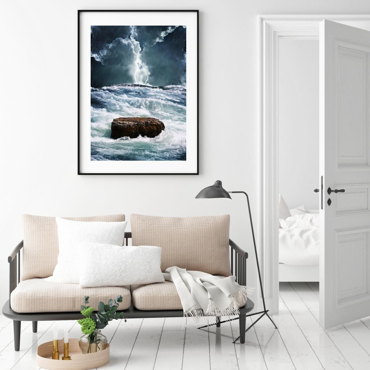 Plakat - Olujno more (S040421SA4)