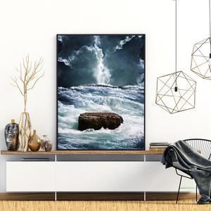 Plakat - Viharno morje (S040421SA4)