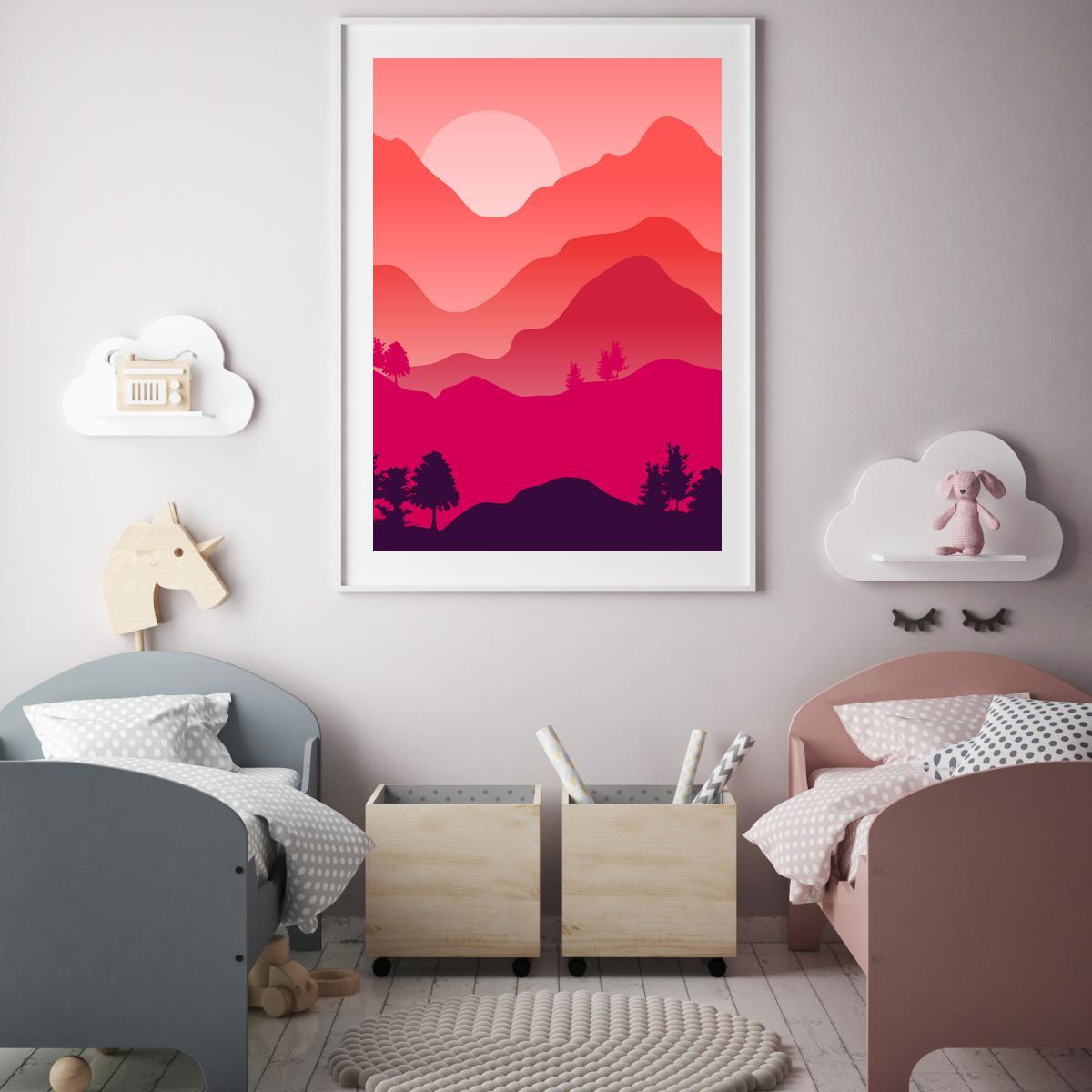 Plakat - Planinski krajolik (S040432SA4)