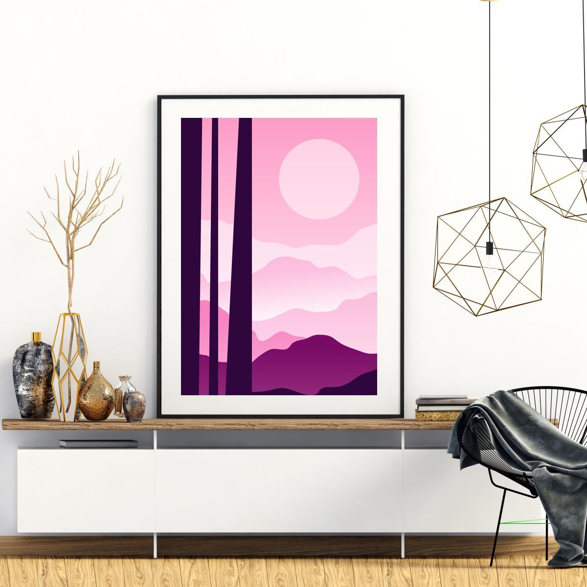 Plakat - Planinski krajolik (S040433SA4)