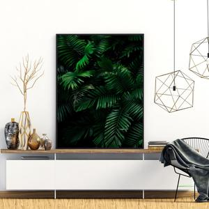 Plakat - Džungla s palmami (S040452SA4)