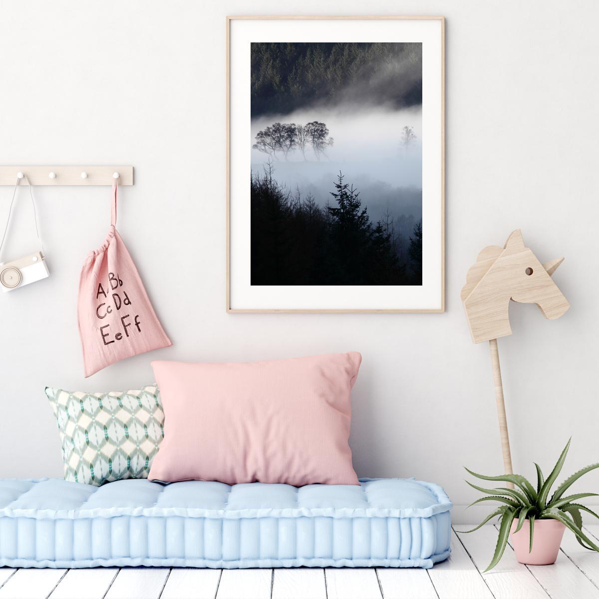 Plakat - Šuma u magli (S040467SA4)