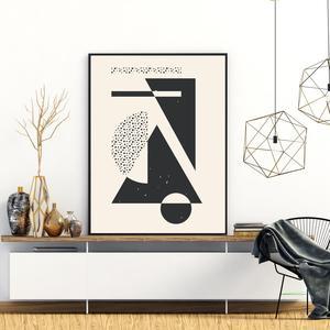 Plakat - Umjetnička apstrakcija (S040615SA4)