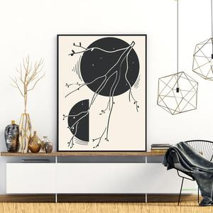 Plakat - Umjetnička apstrakcija (S040617SA4)